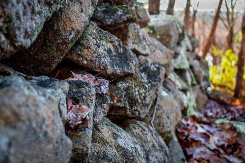 stone wall by Eddy, on Flickr via I {heart} Rhody