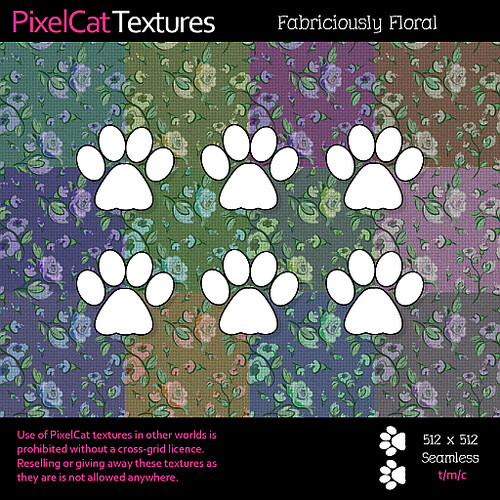 PixelCat Textures - Fabriciously Floral