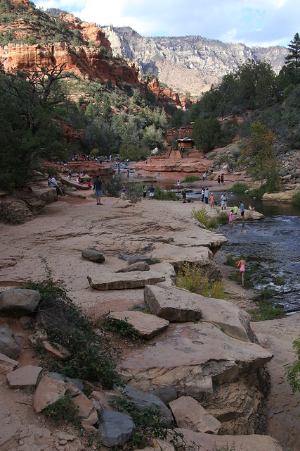 Slide Rock State Park, Sedona Arizona.