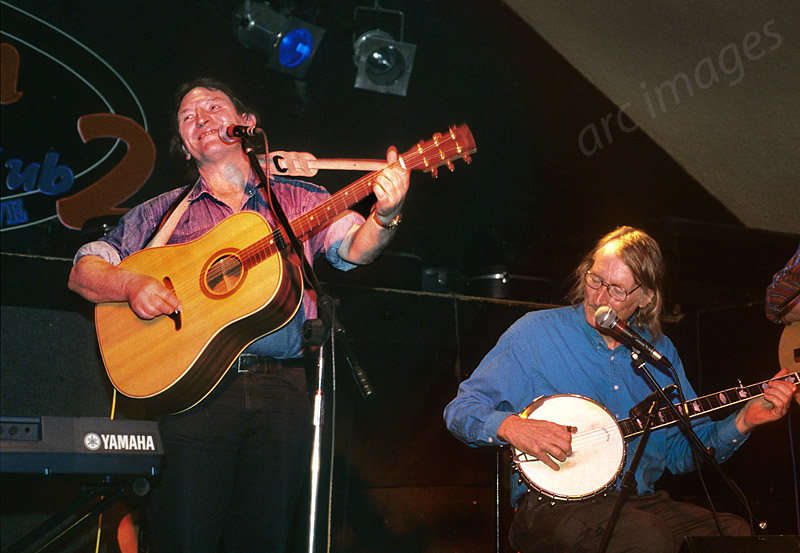 Mike Heron and Clive Palmer, The Incredible String Band, Robin2, Bilston, 2004
