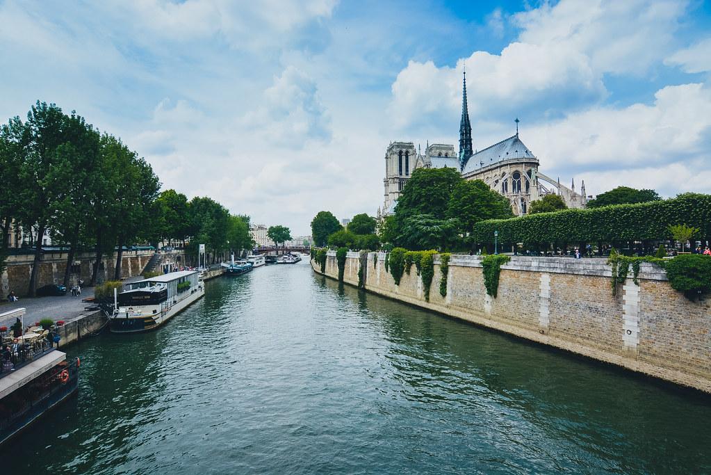 River Seine and Notre Dame