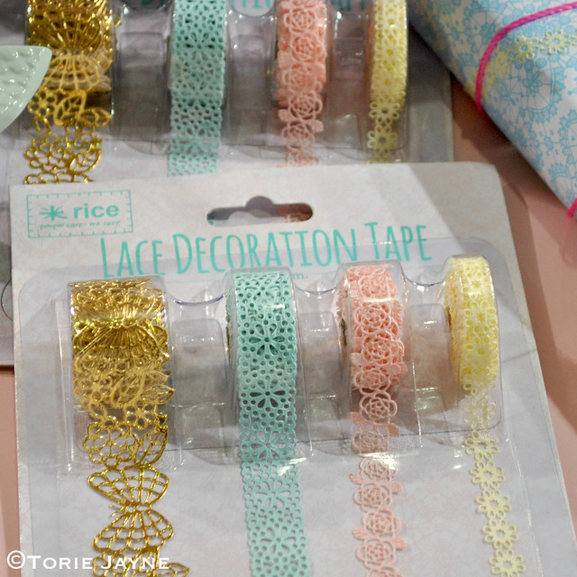 Lace decoration tape
