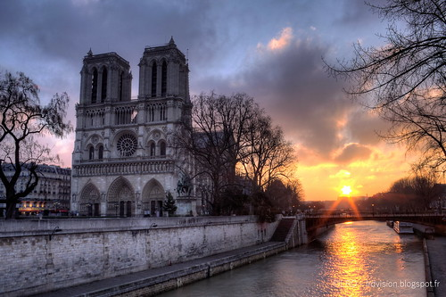 morning paris france water stone sunrise notredamedeparis seineriver