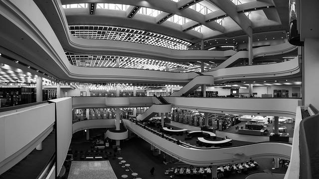 Toronto Reference Library (Panorama)