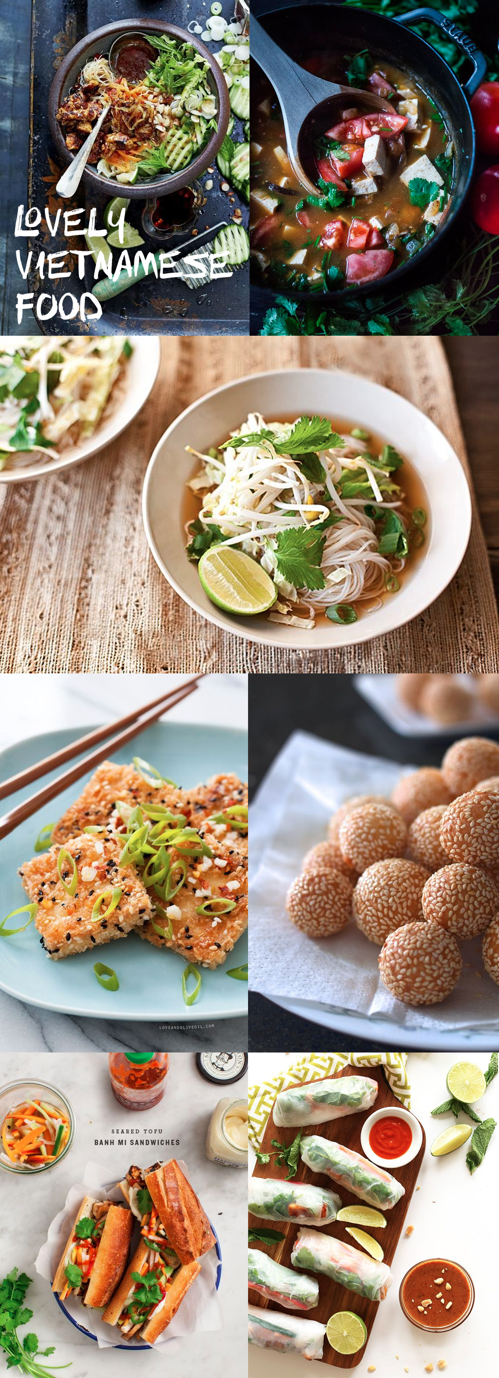 Vietnamese Food inspiration