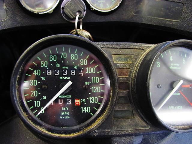 Speedmeter & Odometer-83,382 Miles