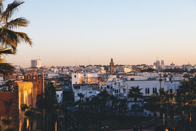 Rabat from the medina
