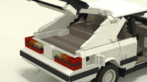 1985 Mustang SVO fuel door and rear hatch