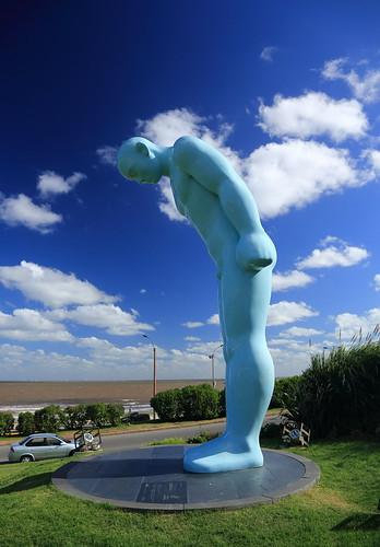 0341 Greeting Man - Montevideo, Uruguay