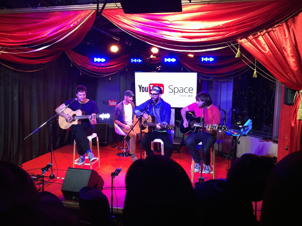 OK Go @YouTube Space