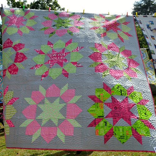 Stop Drop and Swoon - Anne Read (Quilted by Sue Burnett)