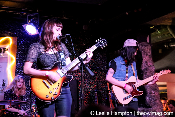 The She's @ Bottom of the Hill, San Francisco 2/24/15