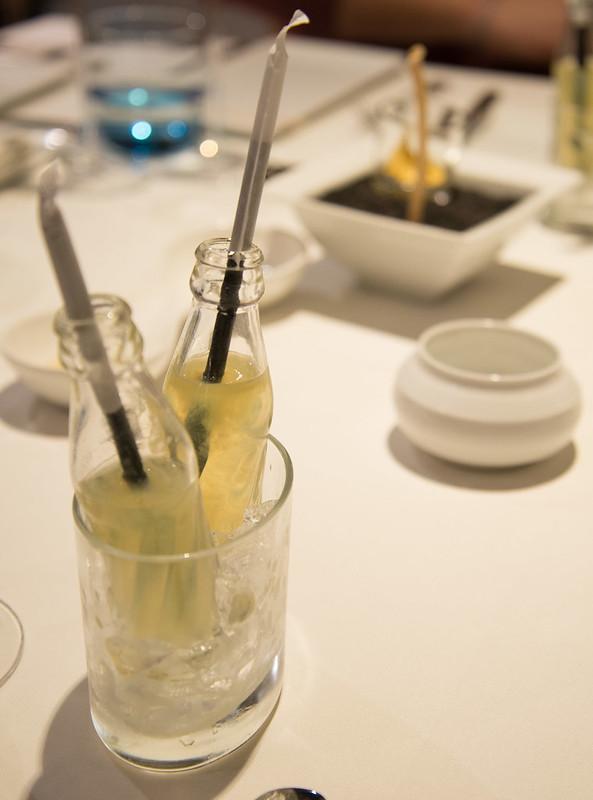 Refresco de licor Cointreau y limón - Club de las Cenas Secretas en Atelier Belge
