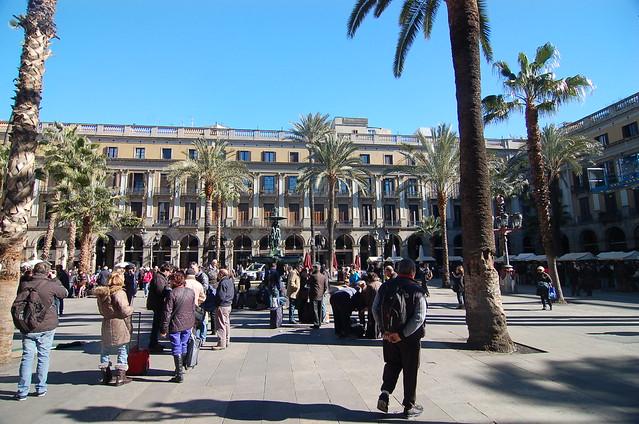 西班牙 巴塞隆納 蘭布拉大道 La Rambla Barcelona Spain