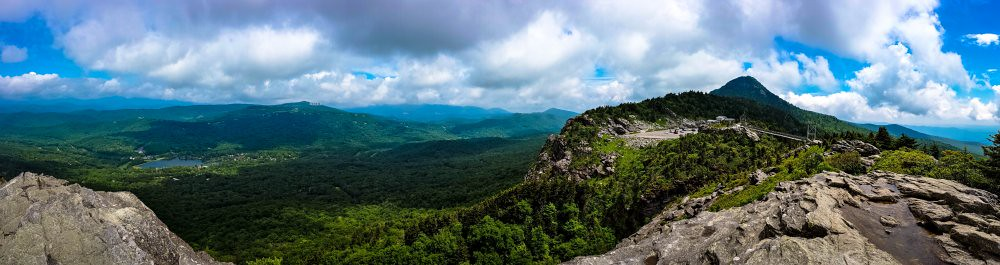 view from grandfather mtn