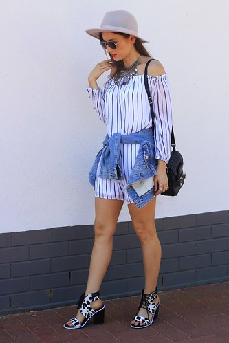 Off the shoulder Cotton On dress