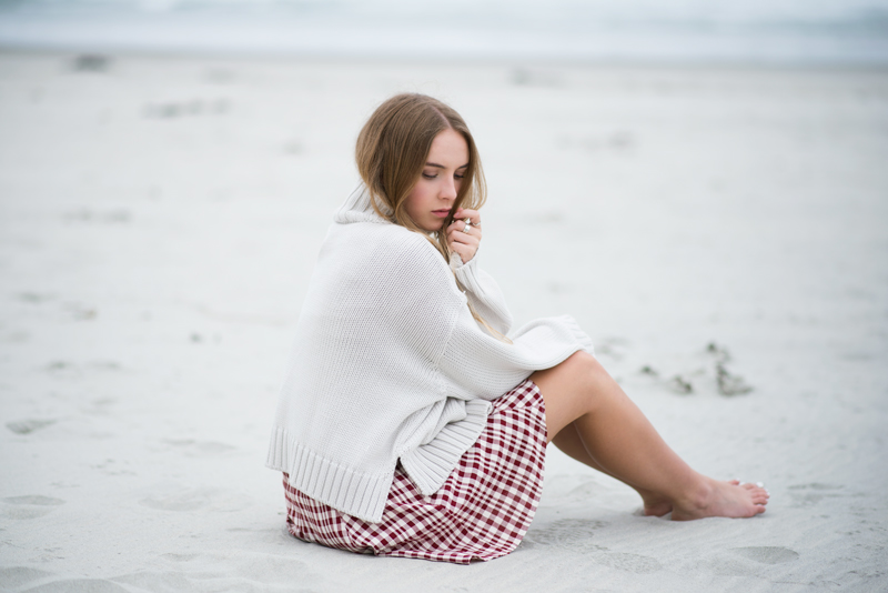 Fashion Blogger | Kendra Alexandra | ASOS Turtleneck Sweater, Reformation Plaid Skirt, Meadowlark Rings
