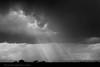 Crepuscular Rays, Union Island, CA