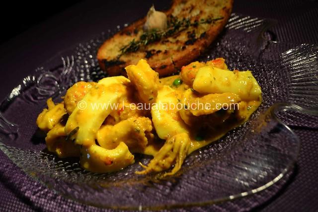 Ragoût de Seiches-Calamars-Crevettes au Safran © Ana Luthi Tous droits réservés 039
