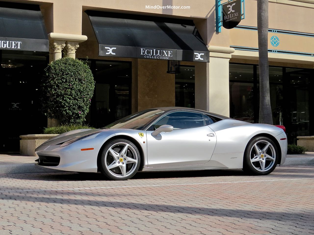 Silver 458 Front