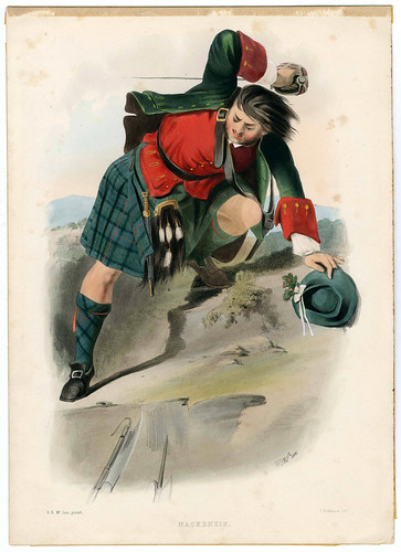 009-Clans_of_the_Scottish_Highlands_1847_Plate_032-The Metropolitan Museum of Art-Thomas J. Watson Library