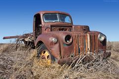 Abandoned Truck - Washington State