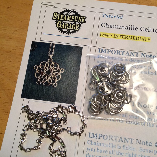 Chainmaille Celtic Star Kit