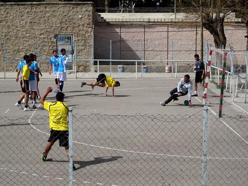 جمعية تازة مع جمعية المولودية ميسور في ملعب البلدي لكرة اليد