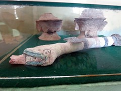Snake-shaped flute