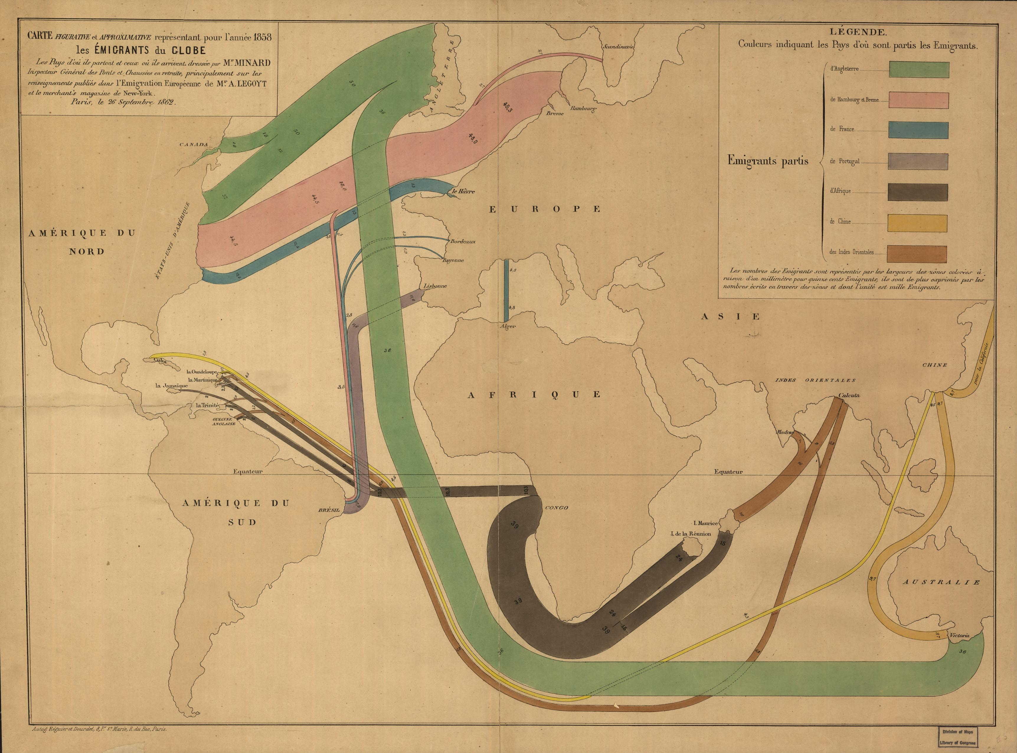 How Slavery And Coerced Labor Shaped Global Migration In Vox - 19th century us immigration map