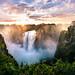 Victoria Falls by anderswotzke