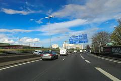 Autoroute A3 - Romainville (France)