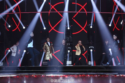 BIGBANG Hunan TV 2015-12-31 by 湖南卫视贴吧  (1)
