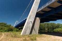 Le pont suspendu de Saint-Just - Saint-Rambert