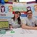 REPRO FREE. Isabel Tanner and Graham Temple, Youth Empowerment Service, pictured at Cork's first Mental Health and Wellbeing Fair, hosted by St. Patrick's Mental Health Services, in the Clarion Hotel, in Cork, on 06th February 2016. Pic: Provision.