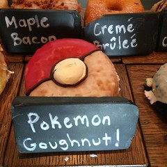 Pokemon Goughnut at Astro Donut...:hatched_chick: :doughnut: #pokemon #donut #gamers #illest #igdaily #instafresh #creativity #classic #artistic #builditandtheywillcom #dmv #diy #exclusive #fresh #astrodoughnut #SupportLocal #SaveThePandas #PokemonGo #des