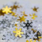 Snowflake sequins