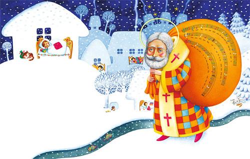 Святий Миколай. Традиції святкування