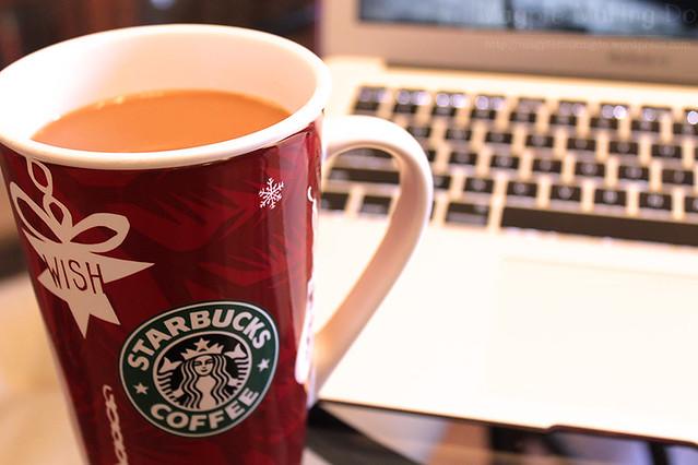 Starbucks Christmas cup
