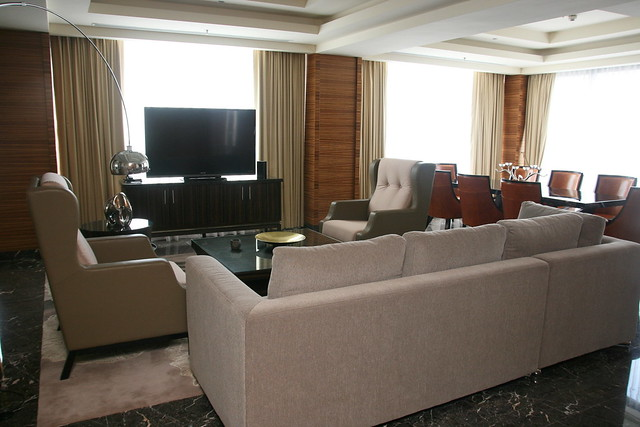 Living Room of Presidential Suite