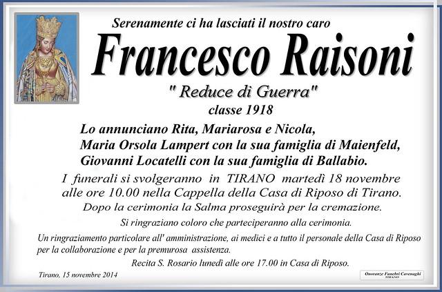 Raisoni Francesco