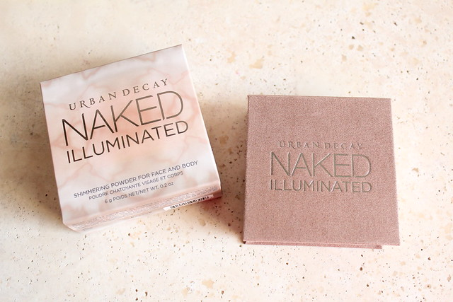 Urban Decay Naked Illuminated Powder Aura review