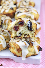 White Chocolate Cranberry Bliss Biscuits