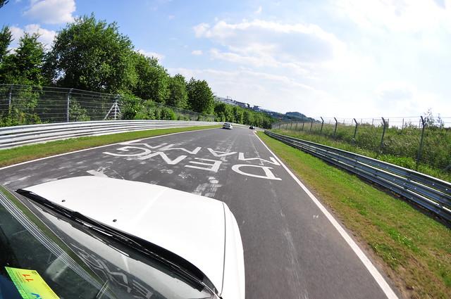 BMW M3 parade lap 1