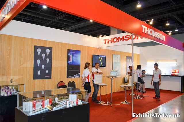 Thomson Exhibit Booth