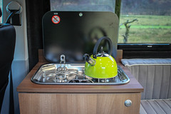 Smev hob in a Campervan Unit