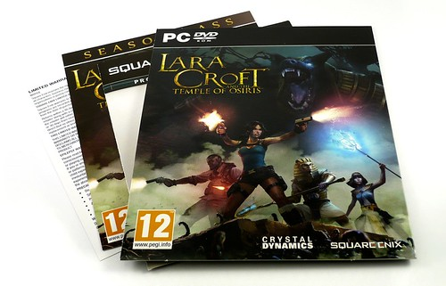 Lara Croft and the Temple of Osiris DVD