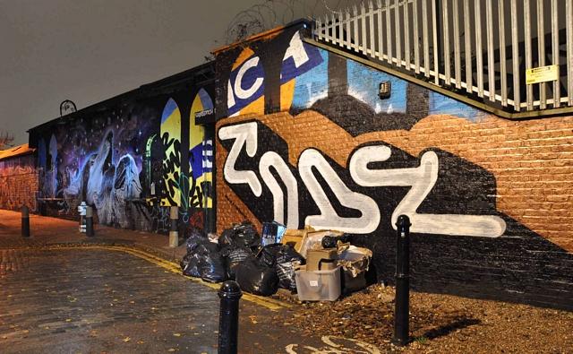 Code, Graffiti Life