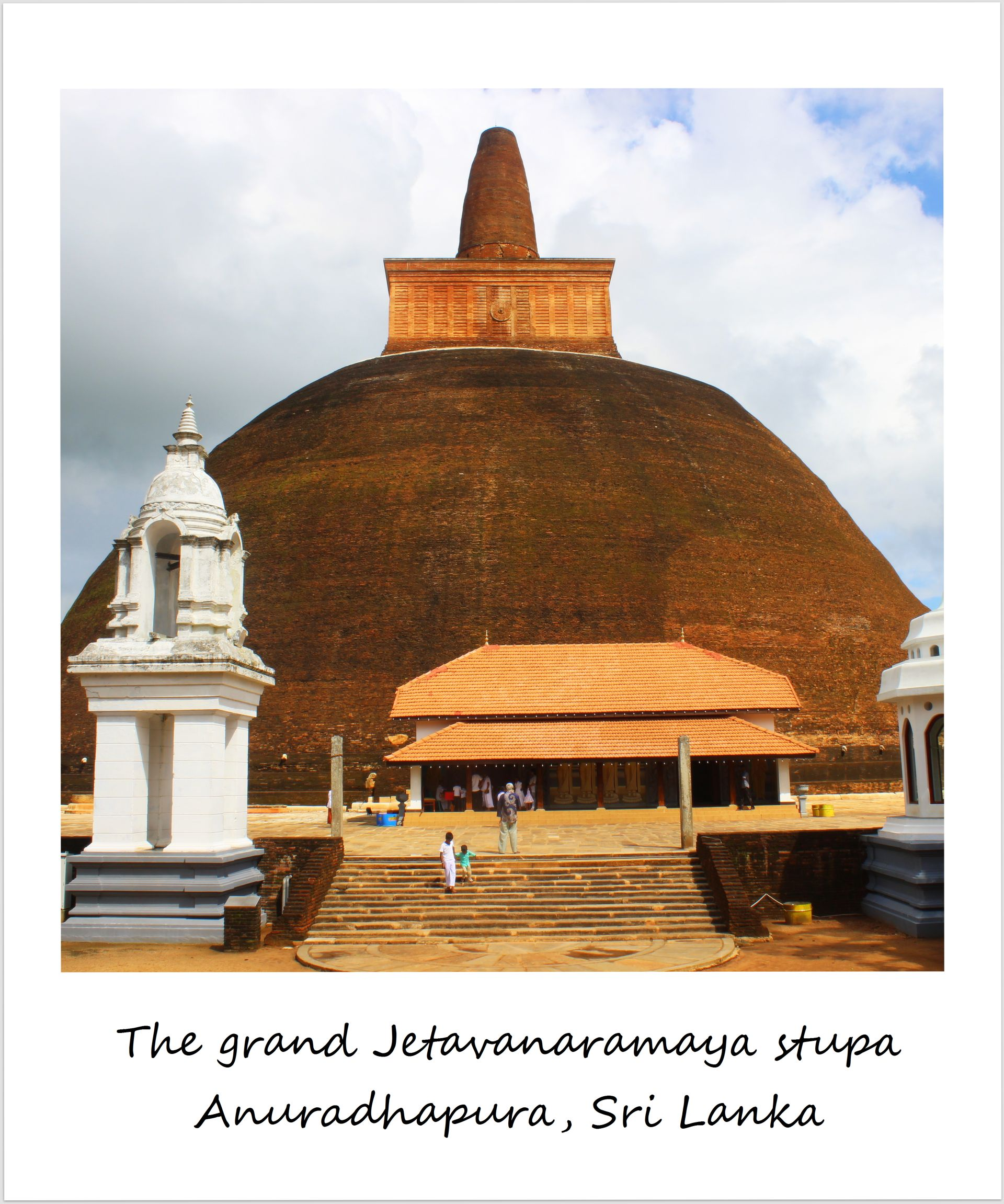 polaroid of the week anuradhapura sri lanka