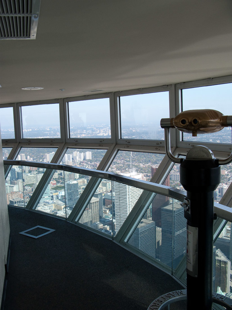 Skypod at CN Tower